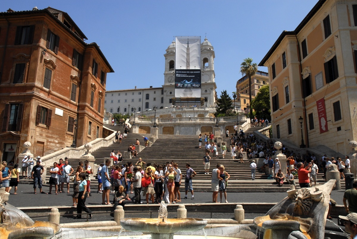 Rome - Spagna Spaanse trappen